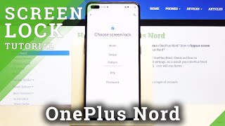 How to Set How to Set Up Screen Lock in OnePlus Nord – Change Locking Method