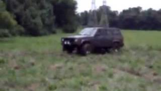 "Jeep Cherokee 3"" lift mudding with General Grabbers"