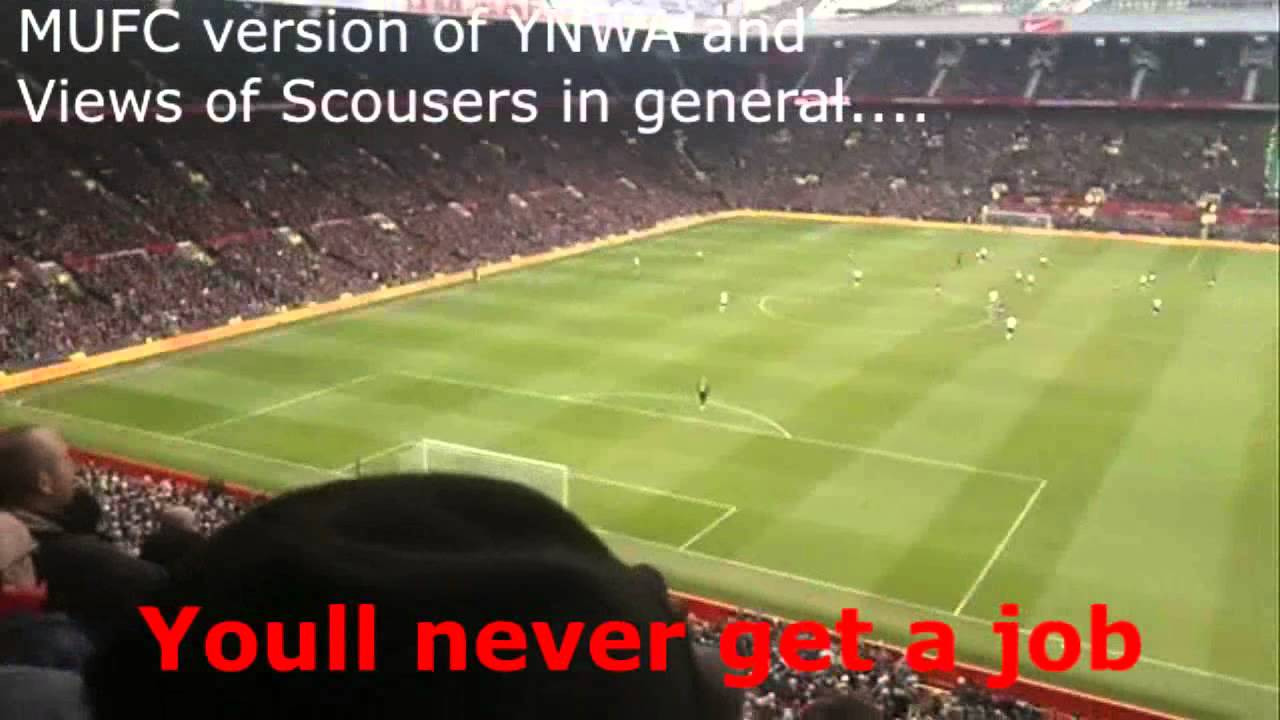 Man Utd Fans Funny Football Chants - Luis Suarez, You'll never get a Job,  Andy Carroll, Liverpool