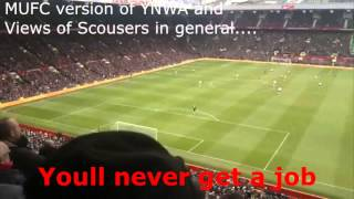 Man Utd Fans Funny Football Chants - Luis Suarez, You'll never get a Job, Andy Carroll, Liverpool.
