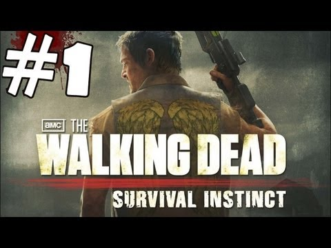 The Walking Dead Survival Instinct Walkthrough Part 1 Gameplay Review Lets Play HD XBOX 360 PC PS3