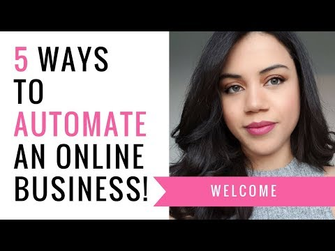 5 Ways To Automate An Online Business | Evaknows | Tools and Resources to automate your business!