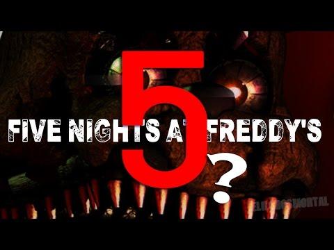 Nuevo Juego en Desarrollo ? - Five Nights at Freddy's 5 CONFIRMADO ? - Detalles Fnaf 4 en Steam