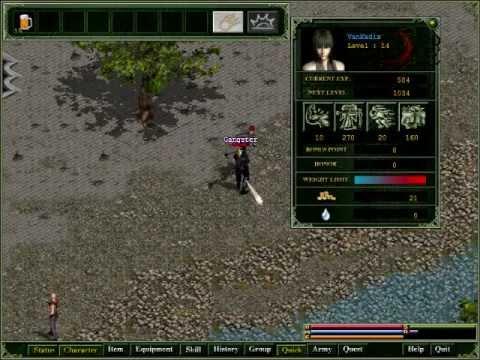 Van_Kadix plays Redmoon:  Level Griding Vigilantism (Pilot)