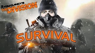 THE DIVISION IS BACK!! - CRAZY SURVIVAL GAMEPLAY!! (PC)