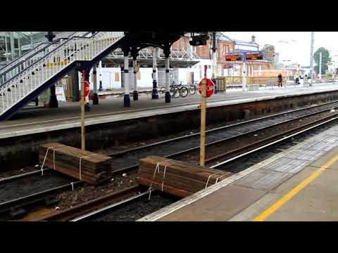 Ayr station exclusion zone