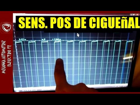 Sensor CKP de posicion de ciguenal, como medirlo (osciloscopio y multimetro)