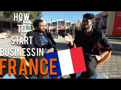 HOW TO START OWN COMPANY IN FRANCE POST STUDIES ?!