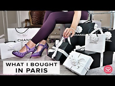 OPENING WHAT I BOUGHT IN PARIS | LUXURY CHANEL HAUL | Sophie Shohet