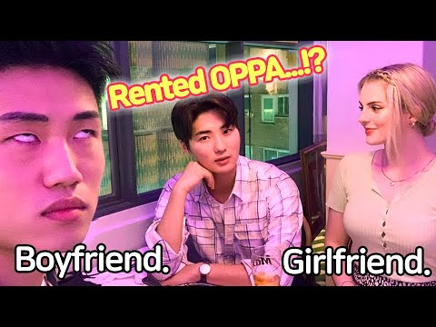 [AMWF] RENTING an OPPA WITHOUT TELLING MY BOYFRIEND * HE IS JEALOUS *