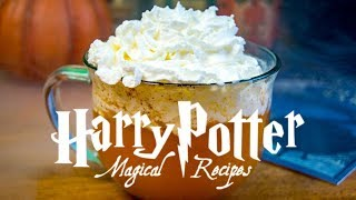 FIZZY PUMPKIN JUICE | Harry Potter Recipes | The Starving Chef