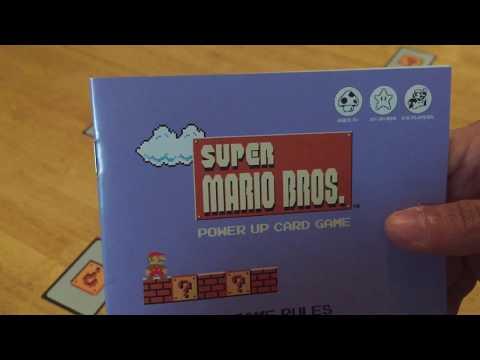 P.E.W. + Games Review: Super Mario Bros. Power Up card game