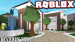 BEVERLY HILLS MILLIONAIRE MANSION!!! (Roblox Bloxburg)