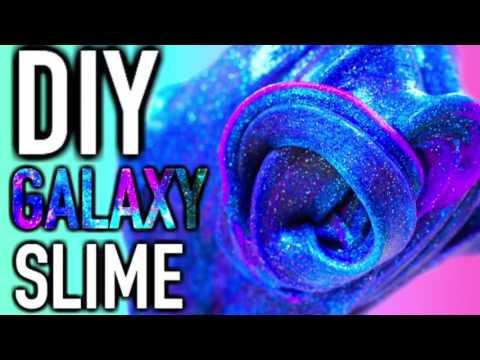 diy galaxy slime selber machen youtube. Black Bedroom Furniture Sets. Home Design Ideas