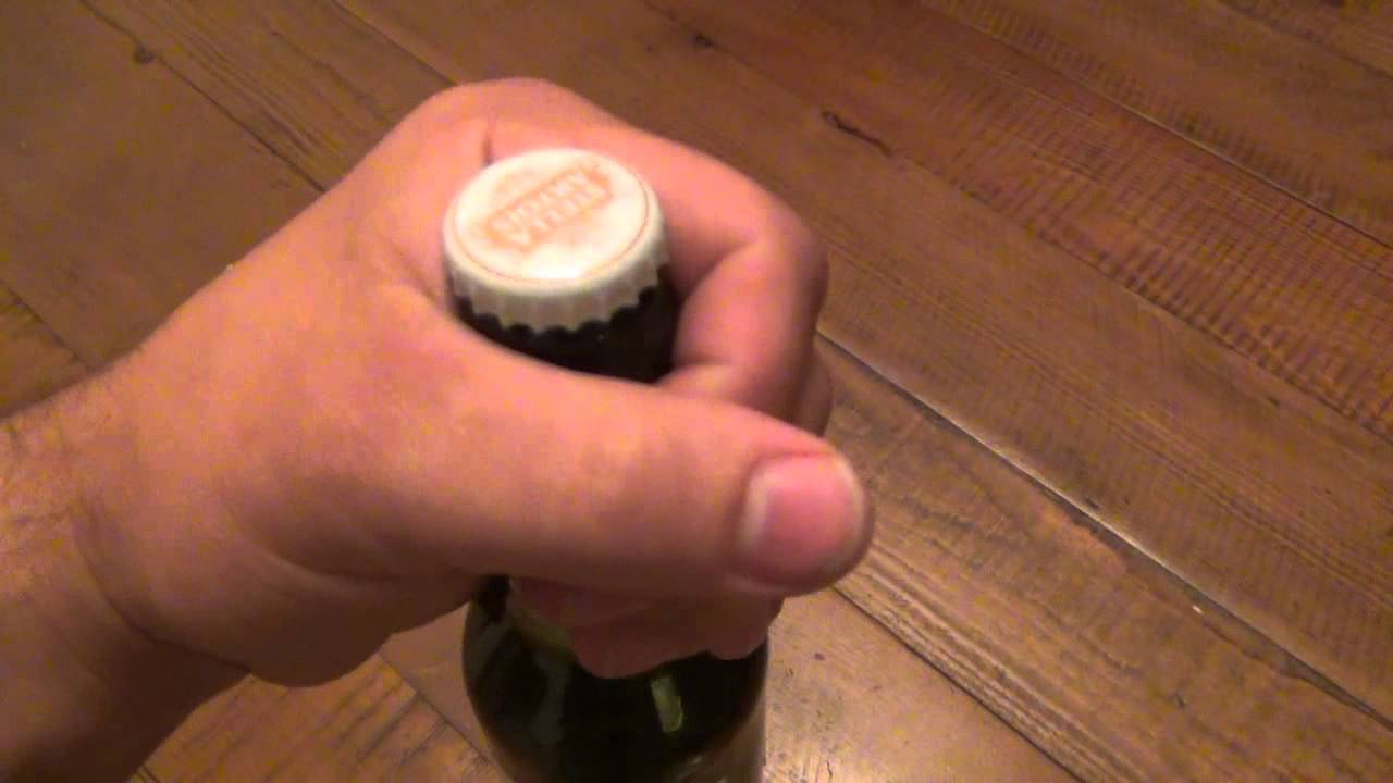 How To Open Beer Bottle Without Bottle Opener Youtube