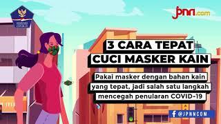 Jangan Asal, Begini Cara Benar Mencuci Masker Kain - JPNN.com