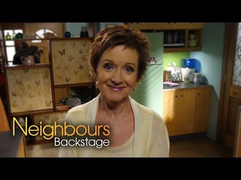 Jackie Woodburne Susan  Neighbours Backstage