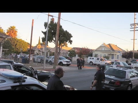 LAPD in South Central Los Angeles | Vlog
