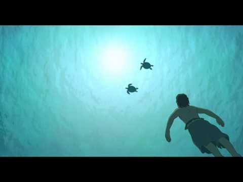 La Tartaruga Rossa   Scena dal Film   Nuotare con le tartarughe