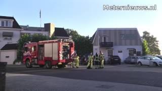 Brandje in wasruimte hotel in Ommen snel opgelost