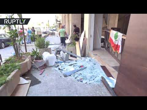 Blood and widespread destruction | What the streets of Beirut look like now