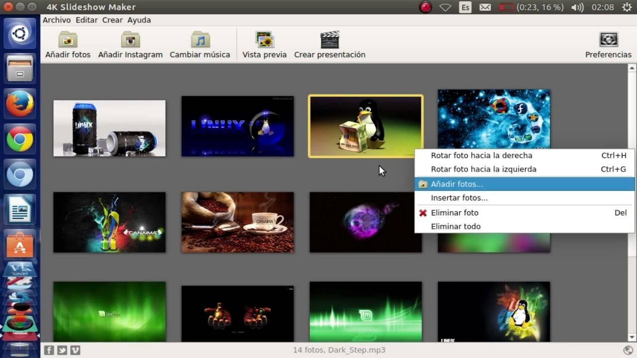 Programa para crear presentaciones de imagenes musica de for Programa para crear habitaciones virtuales