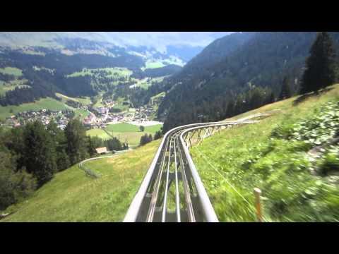 Langst Rodelbaan van de wereld in Churwalden