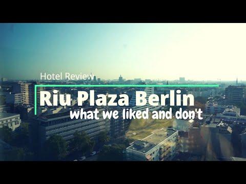 A Modern Hotel in Berlin With Free Parking Garage   Riu Plaza Berlin