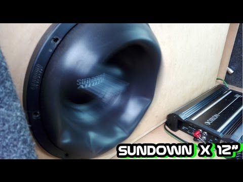 Sundown X12 Extreme Excursion | Orion Xtr 1500.1
