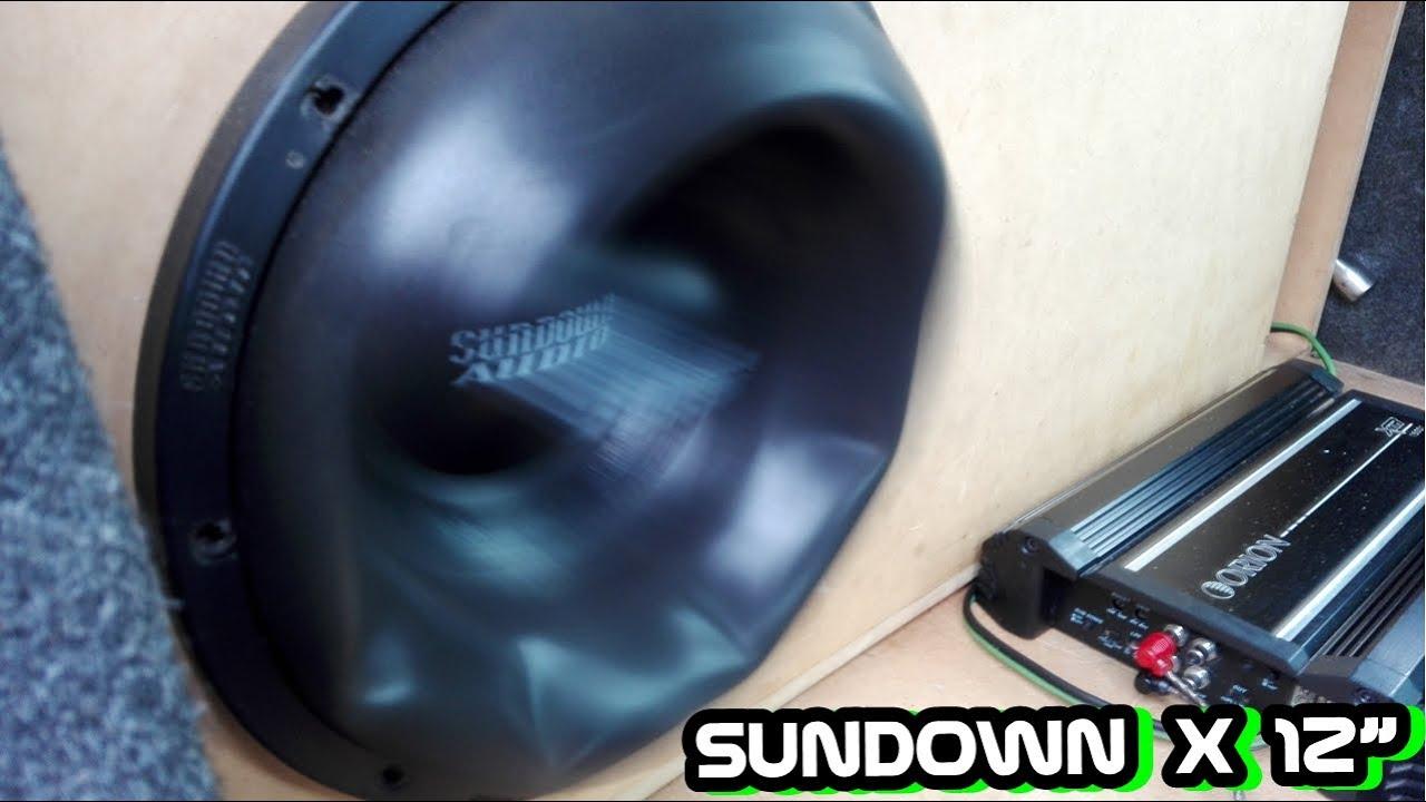 Sundown X12 Extreme Excursion Orion Xtr 15001 Youtube Subwoofer Wiring