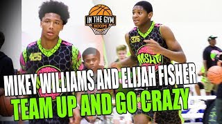 Mikey Williams and Elijah Fisher Team Up MSHTV 2023 Exposure Game