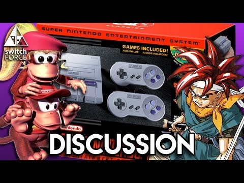 SNES Classic Edition Analysis + VIRTUAL CONSOLE DELAY??