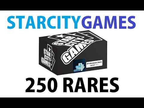 Is it Worth it to Buy 250 Rares from StarCityGames?
