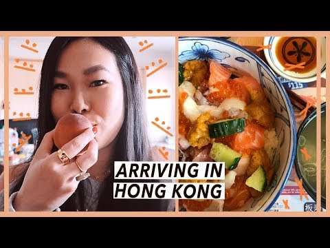 Arriving in Hong Kong for Chinese New Year | Food Travel Vlog