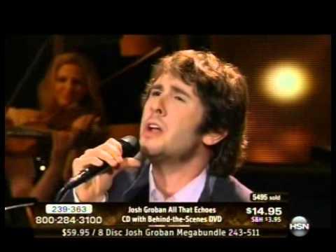01-18-2013 Josh Groban HSN Concert -- Un Alma Mas