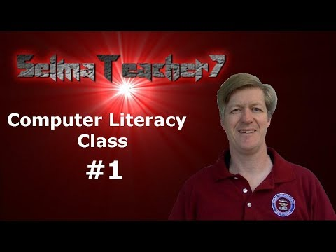 Computer Literacy Lesson #1