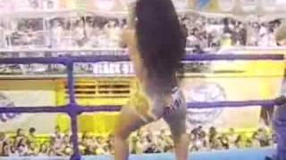 Bailarina (s) Cuerpo Pintado(s) Causan F...