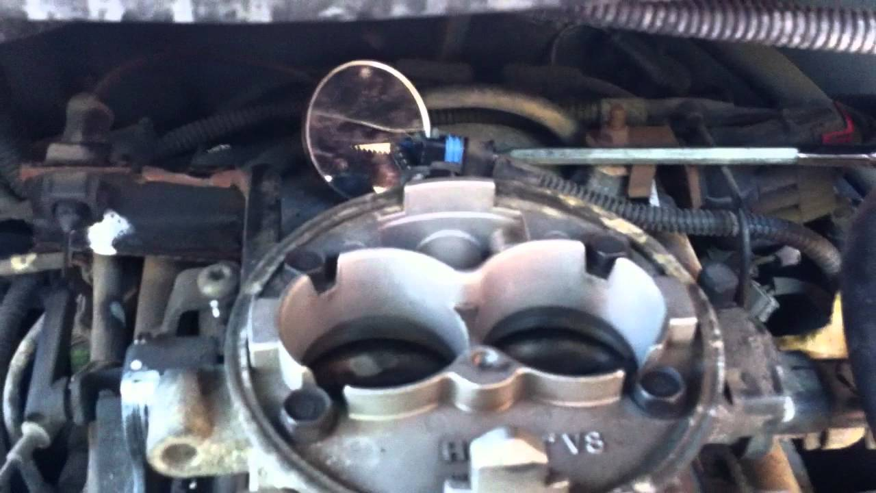Dodge Ram Rough Idle 5.2 Liter (318) Idle Air replacement. - YouTube