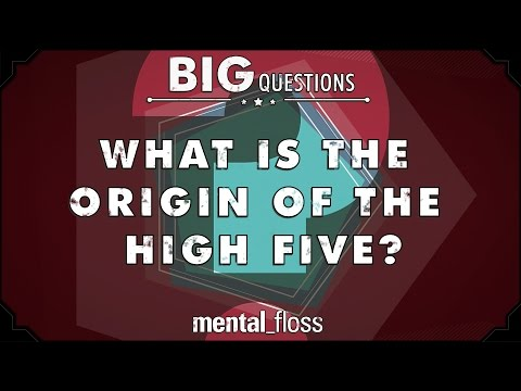 What is the origin of the high five? - Big Questions - (Ep. 27)