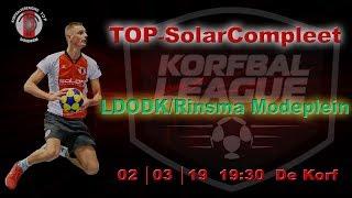 TOP/SolarCompleet 1 tegen LDODK/Rinsma Modeplein 1, zaterdag 2 maart 2019
