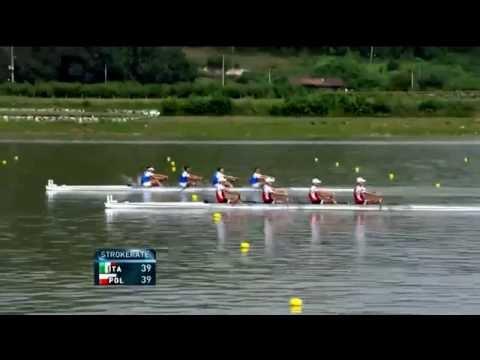 2013 World Rowing Championships Chungju, Korea LM4-  Final B