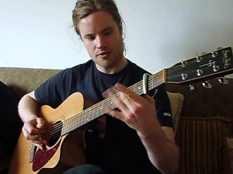 Kit Hawes, Guitarist, Playing 'Cunla'.His Version Of The Irish Tune.