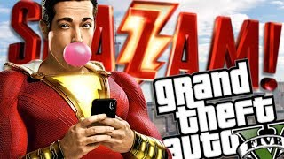 THE NEW SHAZAM MOVIE MOD w/ BILLY BATSON (GTA 5 PC Mods Gameplay)