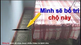 Bố trí phòng ngủ diện tích nhỏ - Rất thiết thực