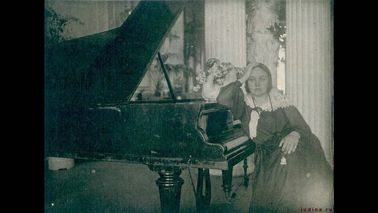 Maria Yudina Мария Юдина - Wolfgang Amadeus Mozart В. Моцарт Соната № 6 Ре Мажор K. 284 - Соната № 18 Фа Мажор K. 533 и K. 494