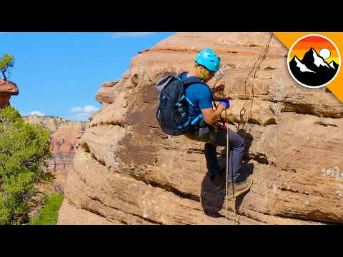 DON'T LOOK DOWN! Canyoneering is Intense!