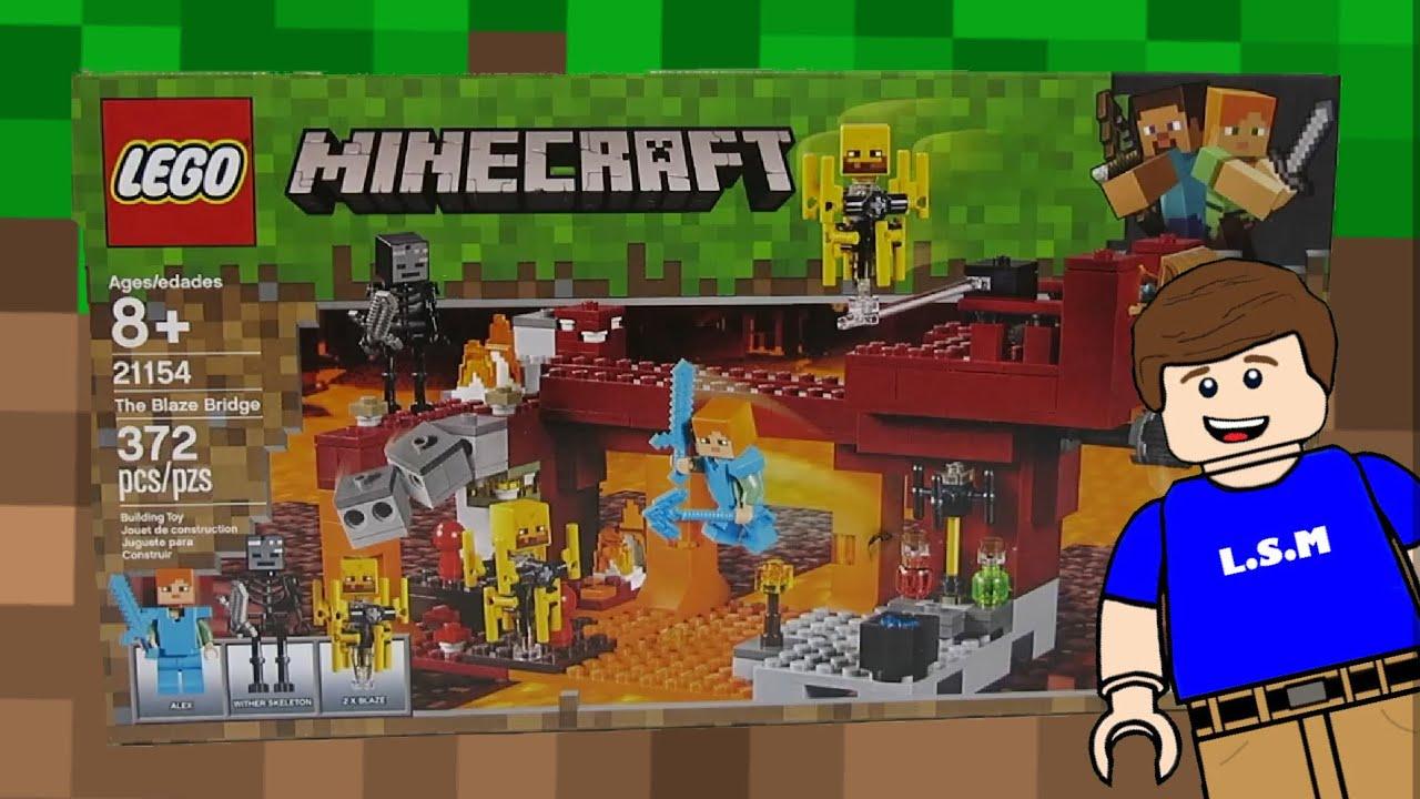 Lego Bridge Minecraft Blaze Lego Review Bridge Minecraft Review Blaze WDH2IE9