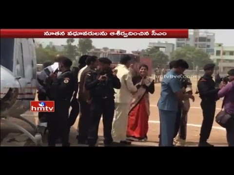 AP CM Chandrababu Visits Telangana For First Time After State Formation | Warangal | HMTV