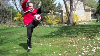 The Hop Around The World Soccer Football Trick