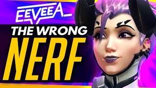 Overwatch | THE WRONG MERCY NERFS - EeveeA Talks Changes And One Tricks